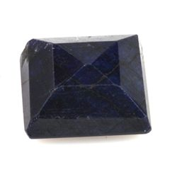 Natural African Sapphire Loose 41.4ctw Square Cut