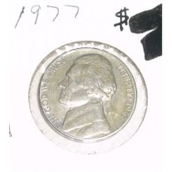 1977 Jefferson Nickel *PLEASE LOOK AT PICTURE TO DETERMINE GRADE* Nice Coin!!