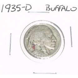 1935-D Buffalo Nickel *PLEASE LOOK AT PICTURE TO DETERMINE GRADE - NICE COIN*!!