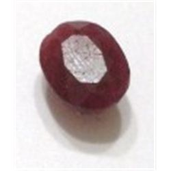5.60 ct Natural Large RUBY Cut & Faceted *HIGH GRADE*! RUBY came out of Estate Bank Safe Deposit!