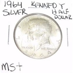 1964 Kennedy SILVER Half Dollar *RARE MS+ HIGH GRADE*!!