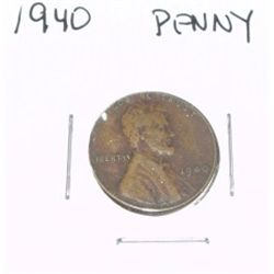 1940 Lincoln Cent Penny *PLEASE LOOK AT PICTURE TO DETERMINE GRADE - NICE COIN*!!