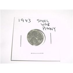 1943 Lincoln Steel War Penny *PLEASE LOOK AT PICTURE TO DETERMINE GRADE - NICE COIN*!!