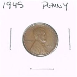 1945 Lincoln Cent Penny *PLEASE LOOK AT PICTURE TO DETERMINE GRADE - NICE COIN*!!