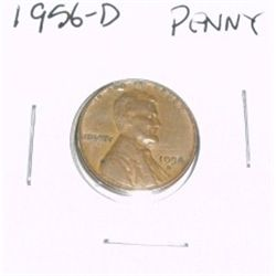 1956-D Lincoln Cent Penny *PLEASE LOOK AT PICTURE TO DETERMINE GRADE - NICE COIN*!!