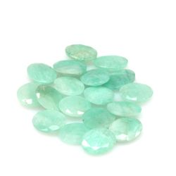 Natural 56.88ctw Emerald Oval (18) Stone