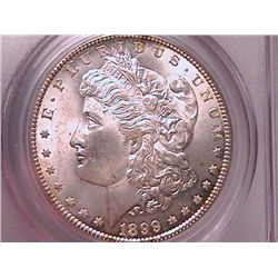 1899-O Morgan Dollar MS63 PCGS