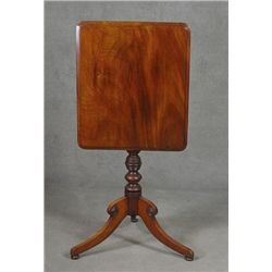 English Mahogany Regency Tilt Top Table