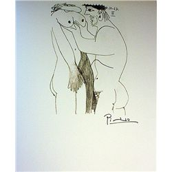 Stunning Original Signed Lithograph by Pablo Picasso