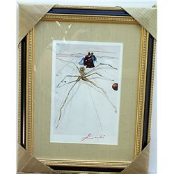 ORIGINAL SIGNED WOODBLOCK BY SALVADOR DALI