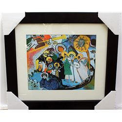 LIMITED EDITION LITHOGRAPH BY WASSILY KANDINSKY