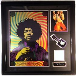 Jimi Hendrix Large  Hologram