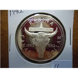 1982 CANADA REGINA $ PROOF .3750 OZ. ASW