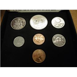 1974 CANADA DOUBLE CENT SET