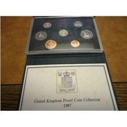 1987 UNITED KINGDOM PROOF SET