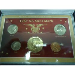 1967-P US MINT SET (AS SHOWN)