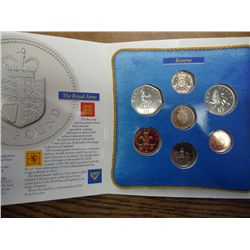 1988 UNITED KINGDOM UNC SET