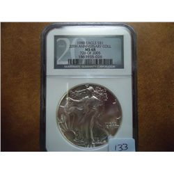 1988 AMERICAN SILVER EAGLE NGC MS68