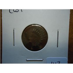 1863 CIVIL WAR TOKEN