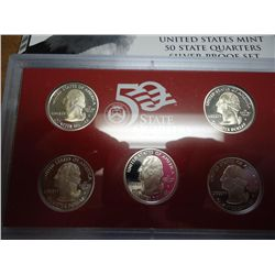 2004 US STATE QUARTERS SILVER PROOF SET