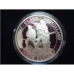 2003 $1 SILVER SOVEREIGN NATION OF THE SHAWNEE PF