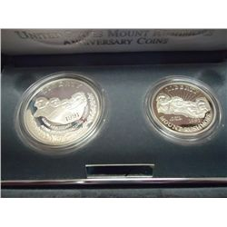 1991 MT. RUSHMORE 2 COIN PROOF SET