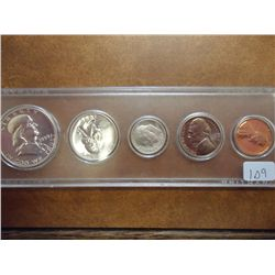 1959 US SILVER PROOF SET (AS SHOWN)