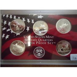 2004 US SILVER 50 STATE QUARTERS PROOF SET
