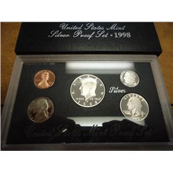 1998 US SILVER PROOF SET (WITH BOX)