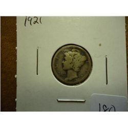 1921 MERCURY DIME (KEY DATE)