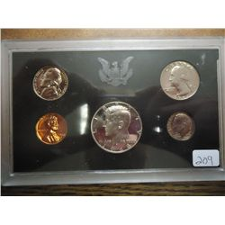 1968 US PROOF SET NO BOX 40% SILVER HALF