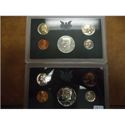 1968 & 69 US PROOF SETS 40% SILVER HALFS