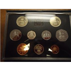 1989 UNITED KINGDOM PROOF SET