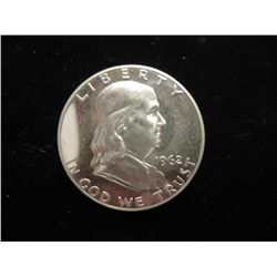 1962 FRANKLIN HALF DOLLAR PROOF