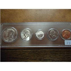 1964-D US SILVER YEAR SET (UNC)