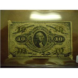 10 CENT US FRACTIONAL CURRENCY