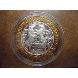 DUBUQUE CASINO $10 SILVER TOKEN (UNC)