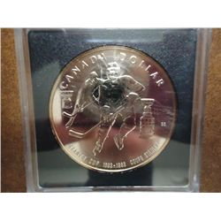 1993 CANADA STANLEY CUP $ PF .7487 OZ. ASW