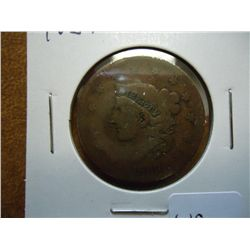 1837 US LARGE CENT