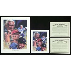 2) Robert Tanenbaum The Legends of Golf  Prints