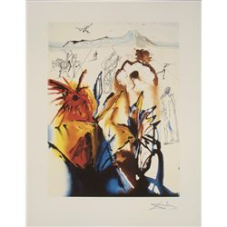 Salvador Dali : Diamond Head Surrealistic Art Print