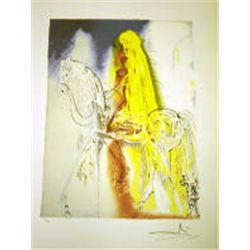 "Dali ""Lady Godiva"" Lithograph - Limited Edition"