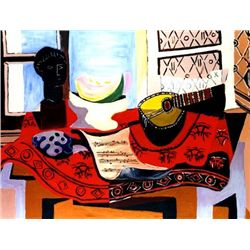"Picasso ""Still Life With Mandolin"""