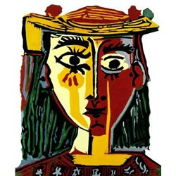 "Picasso ""Bust Of A Woman With Hat"""
