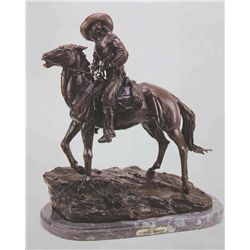 Scout  Bronze Sculpture - Remington