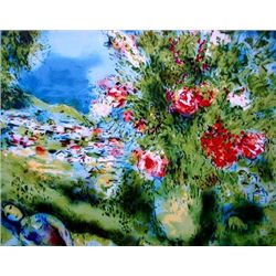 Marc Chagall  Paysage