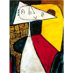 """Picasso """"Seated Woman"""""""