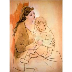 "Picasso ""Mother And Child"""