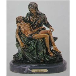 Pieta  Bronze Sculpture - Michelangelo