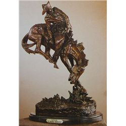 """Outlaw"" Bronze Sculpture - Remington"